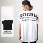 インスタ映えするぐらい存在感のあるバックプリントがかっこよすぎるTシャツ!