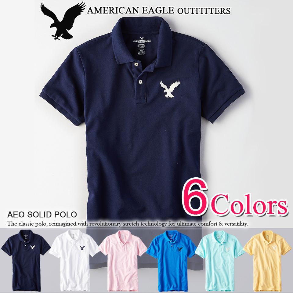 ポロシャツで、馬のマークはもうみんな持ってるし、、、と思ってるあなた!次は、鷲のマークのポロシャツです!アメリカンイーグルかっけー!