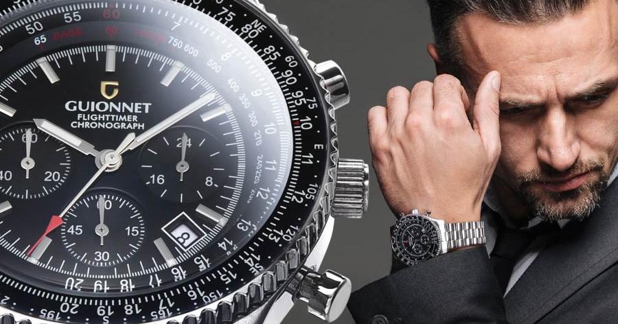 【腕時計】コスパがヤバすぎてカッコよすぎるパイロットクロノグラフ腕時計!売れすぎている理由あり!