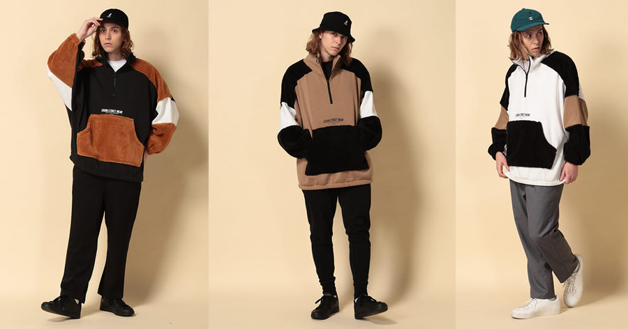 【OMG】ヴィジョンストリートウェアの部分ボアで異なる生地でデザインされたジャケットが可愛すぎた件。